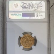 1849 Gold Coin Back