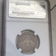 1901 S 25C Coin Back
