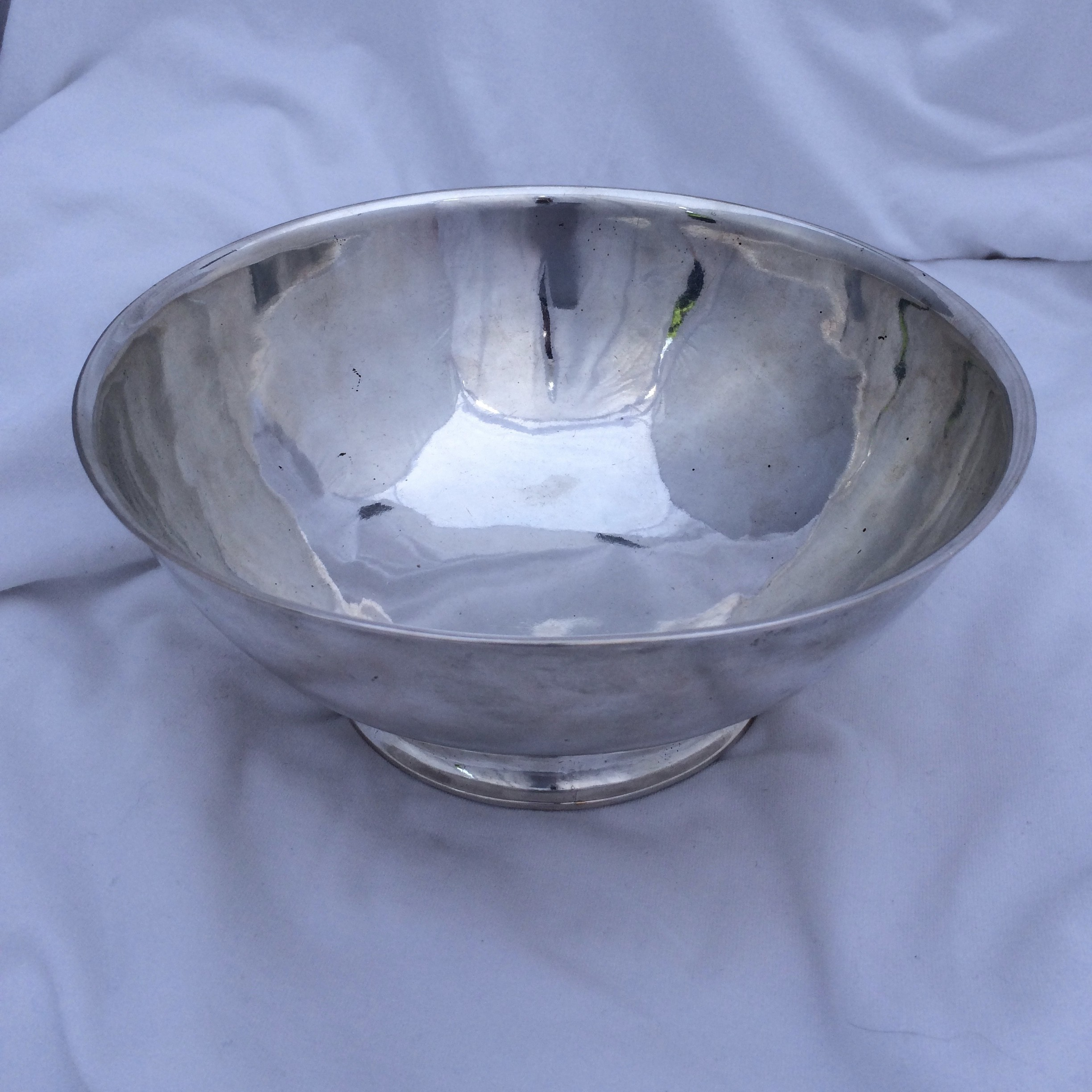 American Silver Bowl by Joseph Richardson Sr.