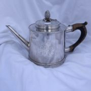 American Silver Tea Pot by Joseph Anthony Jr. circa 1785
