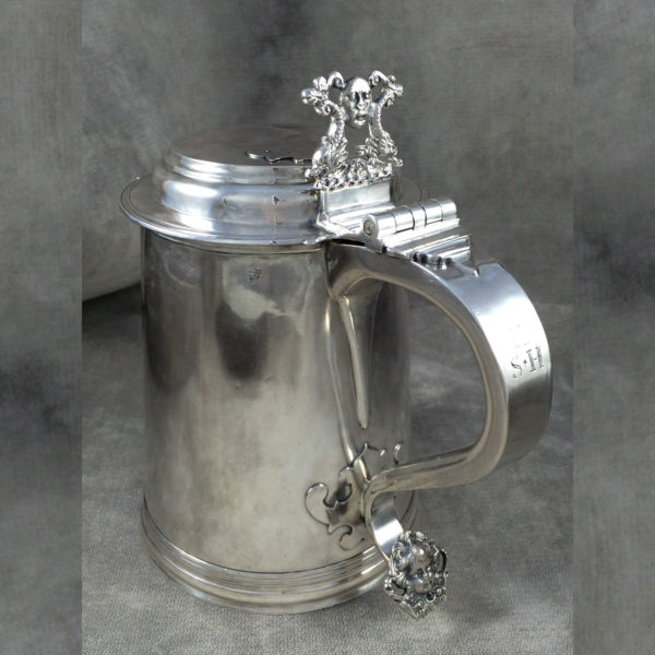 Silver Tankard by Cowell - Full View