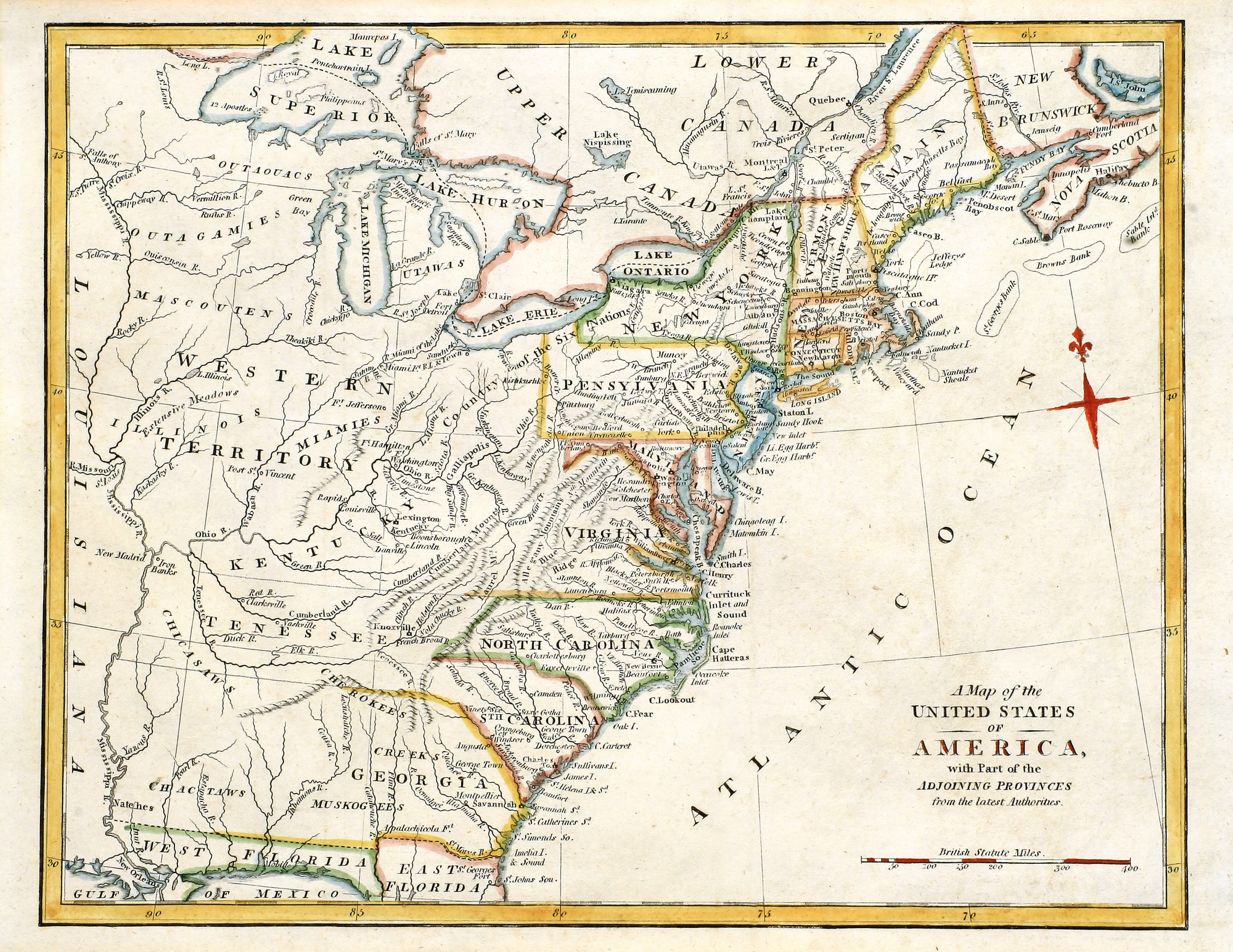 Colonial American Map.Popular American Silversmiths In The Colonial Era Lamb Silver